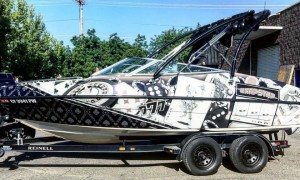 WrapStar Pro- Wake Board Boat Wrap Casino theme