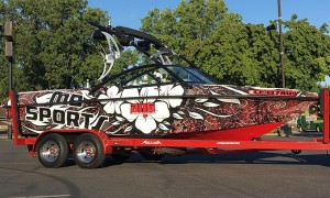 WrapStar Pro- Wakeboard MB Sports B52 Boat Wraps