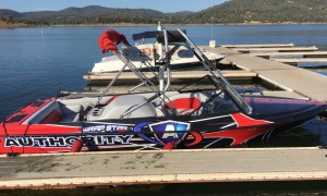 Wake Board Boat Wrap
